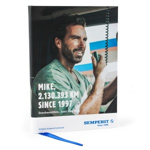 Semperit Truck Notebook A5
