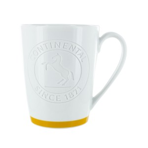 Continental coffee mug