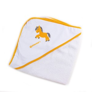 Continental baby bath towel