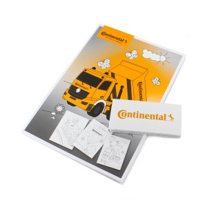 Continental Coloring Book